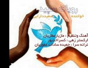 ترانه رویای سپید سعید دارابی